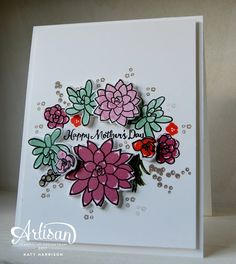 The Stamping Shed: Oh so succulent ....Artisan design team Blog hop