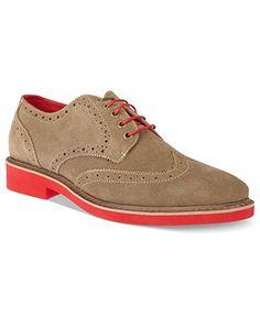 Steve Madden Shoes, Kikstart Oxford Wingtip Lace-Ups - Lace-Ups & Oxfords - Men - Macy's
