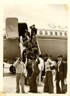 Familia escolar en viaje de promo a Ecuador - 1974