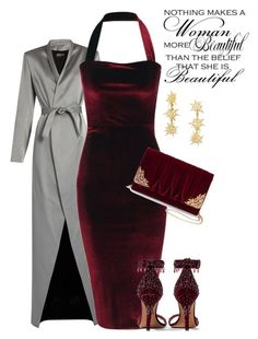 """""""Untitled #711"""" by belinda54-1 ❤ liked on Polyvore featuring Balmain, Givenchy, La Regale and BaubleBar"""