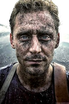 """""""I cannot express to you how committed Tom is and as soon as we got this shot we realized it was such a good take that it would require him to be much dirtier than planned in the subsequent scenes."""" (https://www.instagram.com/p/BRzzWRPFbpS/ ) Edit by Larygo http://larygo.tumblr.com/post/158676262436/after-an-air-cannon-blasted-twhiddleston-in-the"""