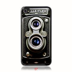 SUndabuLEshop's Rolleiflex vintage camera iphone case – love the retro style! I think I would kill for this sweet baby....literally! LOL