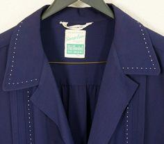 1950s XL Hollywood Jacket  Rayon  Rockabilly  1950s par HicUpLounge