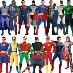#Adult mens muscle #chest padded superhero fancy dress new #costume movie outfit,  View more on the LINK: 	http://www.zeppy.io/product/gb/2/201074319821/
