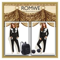 """Romwe 9"" by amelaa-16 ❤ liked on Polyvore featuring romwe"