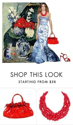 """""""Cezanne"""" by lovetodrinktea ❤ liked on Polyvore featuring Cezanne, Valentino, Humble Chic and Dolce&Gabbana"""