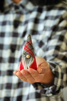 Christmas Gnome  Nordic Gnome MINI 4  Special Plaid