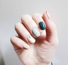 [Hairstyle] simple type Nail Nail