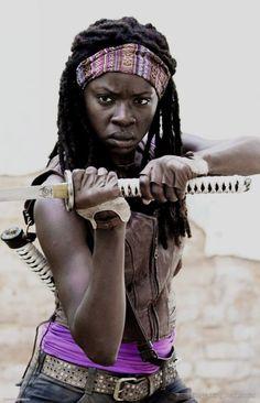 Michonne - Danai Gurira #DanaiGurira #Michonne #TheWalkingDead #TheWalkingDeadSocial
