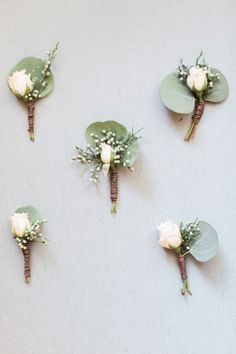 classic boutonnieres