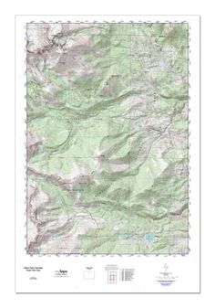 Silver Lake West Campground, El Dorado County, California, Locale [Caples Lake USGS Topographic Map] by MyTopo