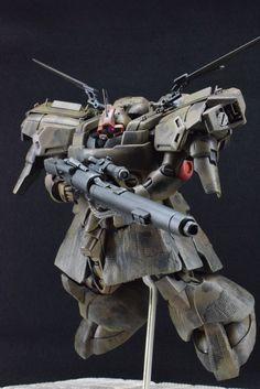 模型・プラモデル投稿SNS【MG-モデラーズギャラリー】ガンプラ AFV ジオラマ  - MS-09G DWADGE