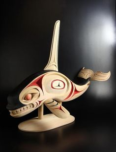 Salish Killerwhale by Chris Sparrow