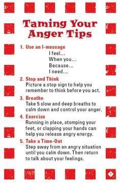 Anger tips