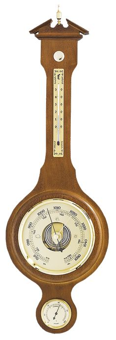 -solid wood (Walnut) -Thermometer Height: -Barometer DIA: -Hygrometer DIA: -Height: -Width: -Made in Germany Years Guarantee Solid Wood, Germany, Clock, Weather, Watch, Deutsch, Clocks, Weather Crafts