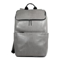 Dean (grey) backpack, lining is made out of 100% recycled PET bottles