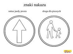 Znalezione obrazy dla zapytania znaki drogowe do druku pdf Techno, Coloring Pages, Symbols, Education, Logos, Montessori, Therapy, Printable Coloring Pages, Icons