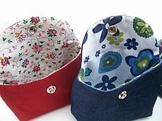 Trendy Bag Description Tuto pouch with easy pressure to … - Womens Bags Diy Sac, Diy Bags Purses, Couture Sewing, Free Sewing, Small Bags, Sewing Projects, Coin Purse, Crochet, Handmade Gifts