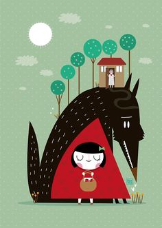 """Little red riding hood"" by mjdaluz 
