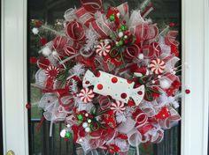 Etsy-Christmas wreaths | Holiday Christmas WREATH. $115.00, via Etsy. | Christmas Wreaths