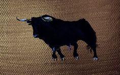 'Toro dark gold 2' von April Turner bei artflakes.com als Poster oder Kunstdruck $27.72