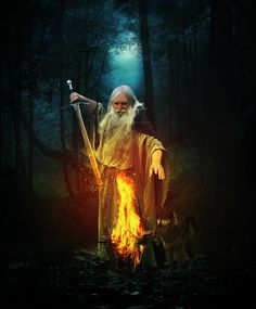 """""""Listen to the legends told to you for often based on history you may find clues to your destiny"""" - Jasmeine Moonsong Fantasy Images, Fantasy Art, Tarot, Fantasy Wizard, Medieval Fantasy, Illustrations, Archetypes, Fantasy World, Mythical Creatures"""