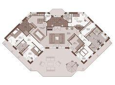 GENO Livingsstar 4 Winkelbungalow - Haus Grundriss