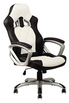 Viscologic-Series-Yf-2710-Wb-Gaming-Racing-Style-Swivel-Office-Chair-Whiteblack-0-1