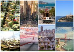 Travel Bucket List on The Mix and Match: San Francisco, West Coast Road Trip #travel
