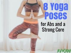 This article is designed for yoga beginners looking to work their core. You'll find some of the best yoga poses for abs and a strong core!