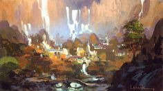 PAUL LASAINE: Blog: Lord of the Rings - Sketches