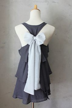 ASHEN AURA  Sleeveless Dark Grey Blouse with by FleetCollection