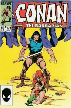 Cover for Conan the Barbarian (Marvel, 1970 series) Hq Marvel, Marvel Comics, Conan The Barbarian Comic, Conan The Destroyer, Warrior Of The Light, Comic Frame, Conan Comics, Imagination Art, Literary Characters