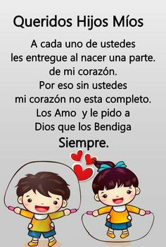 My Children Quotes, Son Quotes, Mother Quotes, Quotes For Kids, Family Quotes, Words Quotes, Life Quotes, Spanish Inspirational Quotes, Spanish Quotes