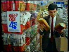 Mr Bean in REMA 1000 Commercial