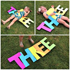Monkey's Third Birthday Extravaganza - Birthday Photoshoot More THREE poses {Felt With Love Designs}