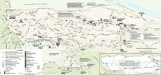 Redwood Regional Park Trail Map (def a place to go with kids esp Canyon Trail to Orchard & play area)