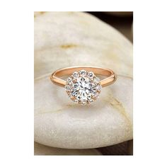 Rose Gold Lotus Flower Diamond Ring = my dream engagement ring! Bling Bling, Rose Gold Diamond Ring, Halo Diamond, Ring Set, Diamond Are A Girls Best Friend, Beautiful Rings, Jewelry Accessories, Wedding Rings, Engagement Rings