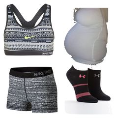 """Babies on the way. In my fan fiction"" by grace-hobson on Polyvore featuring NIKE and Under Armour"