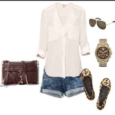 Cute little summer outfit! Now if only a stylist would shop and help me find this stuff lol