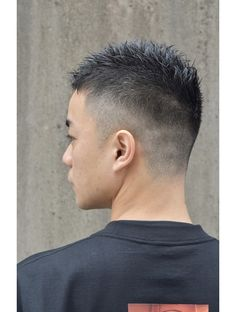 Asian Men Short Hairstyle, Asian Man Haircut, Short Fade Haircut, Asian Short Hair, Cool Hairstyles For Men, Asian Hair, Boy Hairstyles, Short Hair Cuts, Short Hair Styles