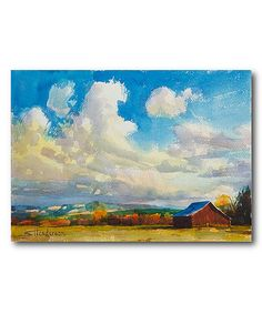 Love this Big Sky Redbone Wrapped Canvas by Courtside Market on #zulily! #zulilyfinds