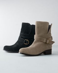 Need these to go on sale.... Jemma Suede Short Boots