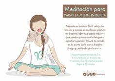 meditación para la mente inquieta