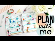 BelindaSelene: Decorate Your Planner With Me: Tiffany and Co Erin Condren Layout