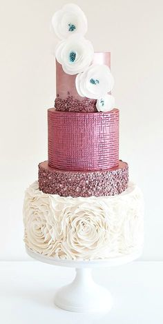 Featured Wedding Cake: Coco Cakes