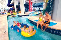 We are the home of Myrtle Beach's ONLY Indoor Waterpark! Enjoy all the fun without leaving the resort. With so much to do you won't know where to start. Spend your lazy days in the 250' lazy river , or speed things up on Myrtle Beach's first adult-sized indoor waterslides. dunes village
