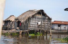 Ganvier, village sur l'eau