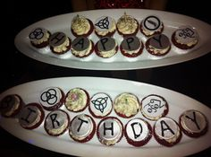 Led Zeppelin cupcakes