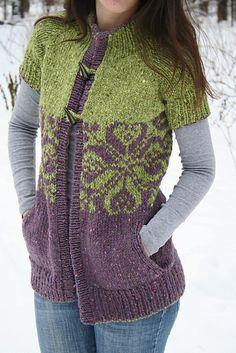Ravelry: Taiga cowichan pattern by Svetlana Volkova 5 Eoros on Ravelry... Bulky knit